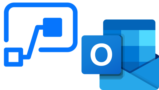 YakChat SMS for Microsoft 365 Power automate & Outlook Logos
