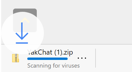 Image of YakChat Downloading