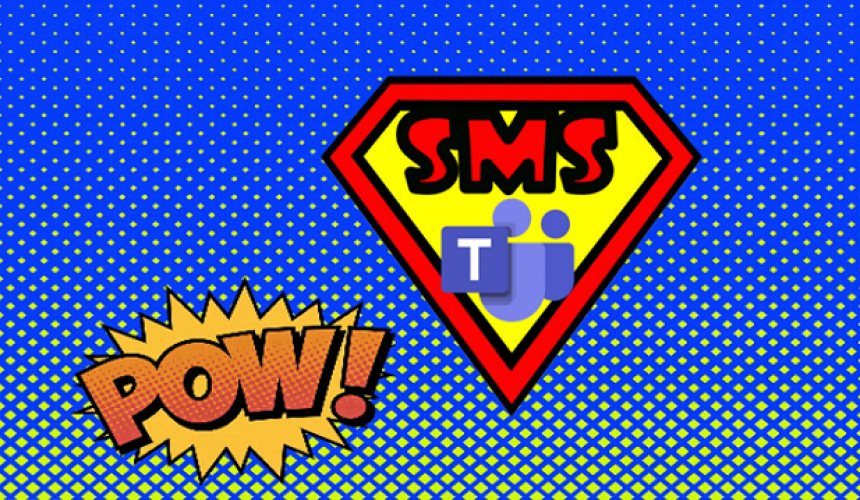 Microsoft Teams with SMS