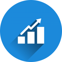 SMS statistics graph